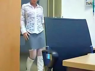 Creampie European German Office Secretary European German