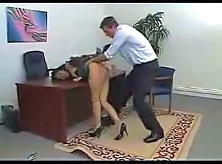 Clothed Office Boss