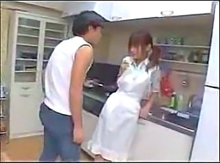 Asian Japanese Kitchen Maid Young