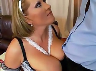 Big Tits Maid Natural Uniform Big Tits Tits Maid