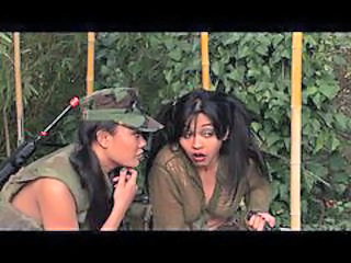 Army Asian Pigtail Uniform Abuse Bus + Asian