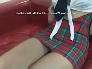 School Skirt Uniform Abuse School Bus Bus + Asian