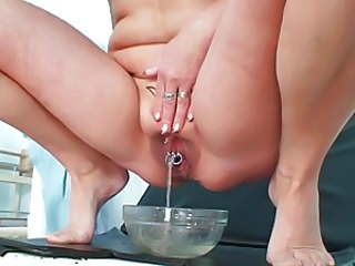 Mature Piercing Pissing Doctor Mature