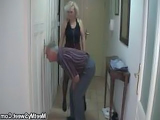 Granny Man Older Man Caught Caught Mom