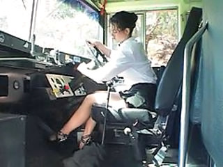 Brunette Bus  Pornstar Skirt Big Tits Big Tits Teacher Big Tits Amazing Outdoor Pussy Licking School Teacher School Bus
