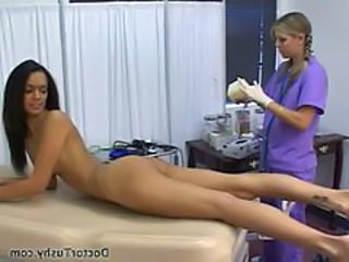 Amateur Ass Brunette Doctor Skinny Uniform Amateur