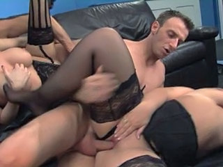 British European Groupsex Hardcore Stockings Stockings European British