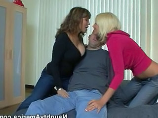 Amazing Groupsex Jeans  Threesome  Milf Threesome Threesome Milf