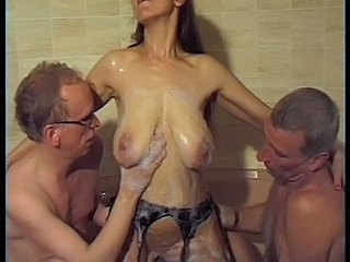 Bathroom Big Tits Groupsex Mature Older  Shower Tits Big Tits Big Tits German German