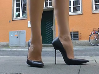 Feet Fetish Outdoor Outdoor High Heels