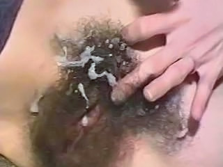 Cumshot Hairy Vintage Wife Vintage Hairy