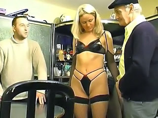 Blonde French Lingerie Small Tits Threesome Lingerie French Threesome Blonde