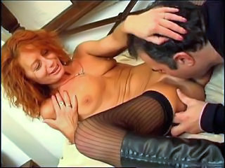 Licking Mature Redhead Small Tits Spanish Stockings Stockings Milf Stockings European Spanish Fuck