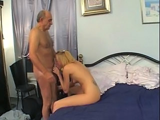 Blonde Blowjob Old and Young Small Tits Tattoo Young Tits Job Old And Young