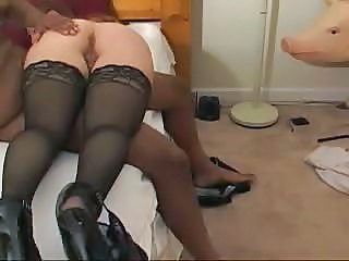 Ass Cuckold Interracial Stockings Stockings Wife Ass