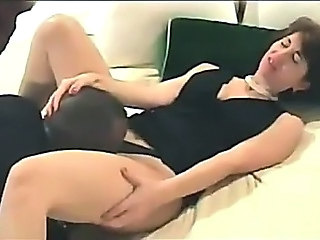 Brunette Licking  Wife Kissing Licking Wife Milf