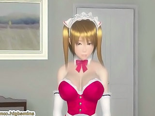 Anime Shemale Doggy Busty Maid + Busty