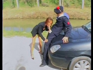 Blowjob French  Outdoor Pornstar Redhead Blowjob Milf Outdoor French Milf Milf Blowjob French