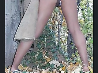 Legs Outdoor Panty Pantyhose Outdoor Pantyhose