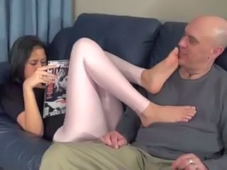 Brunette Cute Feet Fetish Latex Teen Old And Young