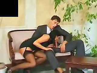 Blowjob Clothed Stockings Dress