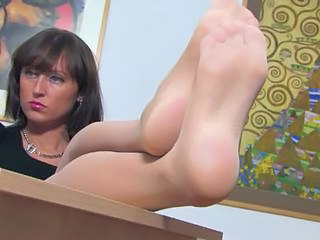 Brunette Feet Fetish Legs  Pornstar Stockings Mature Stockings Nylon