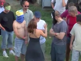 Fetish Gangbang Sperm Outdoor