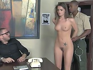 Babe Cute Interracial Office Pornstar Tattoo Punish