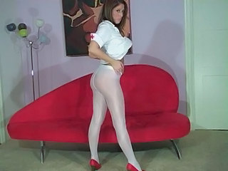 Ass Babe Cute Legs Nurse Pantyhose Uniform Cute Ass Babe Panty Babe Ass Pantyhose