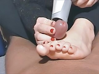 Feet Fetish Handjob