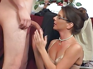 Blowjob Brunette Glasses Handjob  Pornstar Blowjob Milf Milf Ass Milf Blowjob