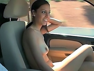 Amateur Brunette Car Small Tits Car Tits Amateur