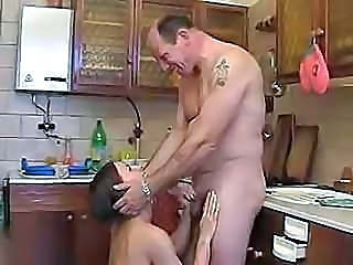 Blowjob Brunette Daughter Hairy Handjob Kitchen Daughter Dirty