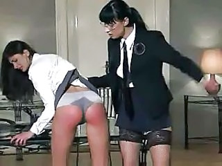 Pain Spanking Young
