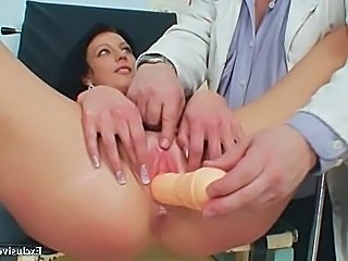 Doctor Masturbating  Pussy Shaved Toy Uniform Gyno Kinky Masturbating Toy Toy Masturbating
