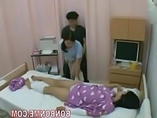 Asian Handjob  Nurse Threesome Uniform Handjob Asian Milf Asian Milf Threesome Nurse Asian Threesome Milf Wife Milf