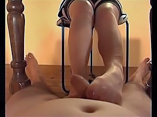 Cumshot Feet Fetish Pantyhose Pov Wife Footjob Foot Pantyhose Nylon