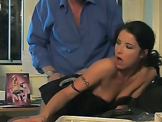 Babe Brunette Doggystyle Hardcore Kitchen Kitchen Sex