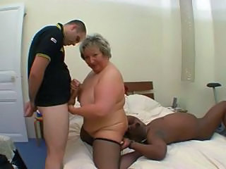 Car Granny French Mature French