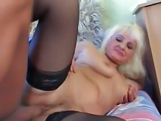 Granny Stockings Granny Blonde Granny Stockings