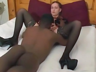 Interracial Legs Licking Stockings Stockings