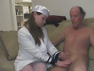 Chubby Handjob Nurse Old and Young Uniform Old And Young Nurse Young