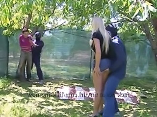 Blonde Forced Groupsex Hardcore  Outdoor Pornstar Outdoor Forced