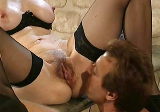Licking  Pussy Stockings Vintage Perverted