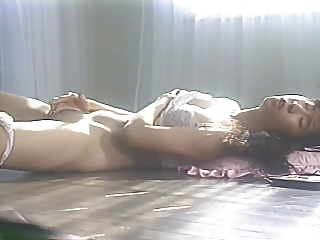 Asian Japanese Lingerie Masturbating  Vintage