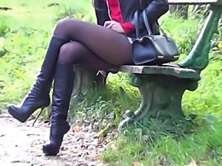 Legs Pantyhose Hooker Pantyhose Leather