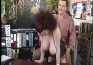 Big Tits Doggystyle Glasses Hardcore Lingerie  Natural Office Secretary Vintage Boss