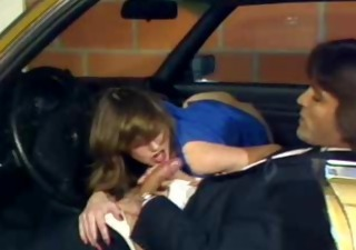 Blowjob Car Clothed European French  Vintage French