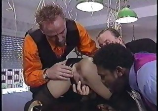 Ass Gangbang Interracial Vintage