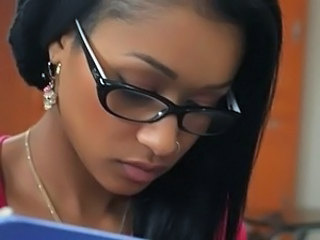 Cute Ebony Glasses Student Ebony Ass Cute Ass